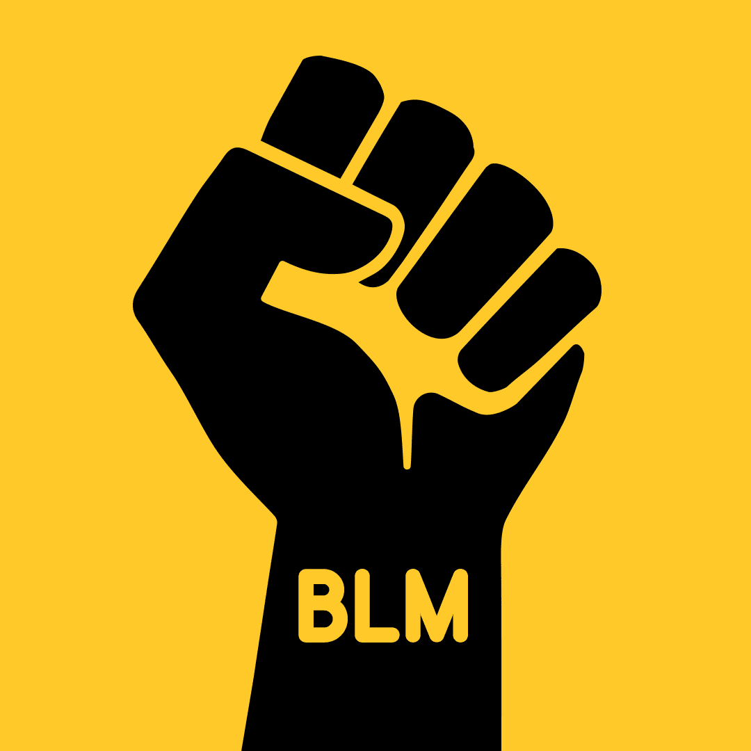 Black Lives Matter fist icon